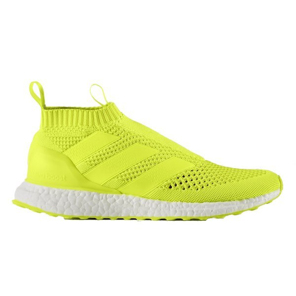 new product 28f73 cb6c7 adidas ACE 16+ PureControl Ultra Boost Solar yellowSilver metallic. Read  more about the product. - sneakers image shadow