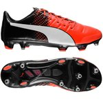 Puma evoPOWER 1.3 FG Red Blast/Puma White/Puma Black