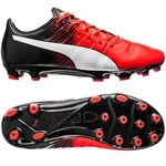 Puma evoPOWER 1.3 AG Red Blast/Puma White/Puma Black