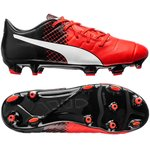 Puma evoPOWER 1.3 FG Red Blast/Puma White/Puma Black Kids