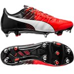 Puma evoPOWER 1.3 SG Red Blast/Puma White/Puma Black