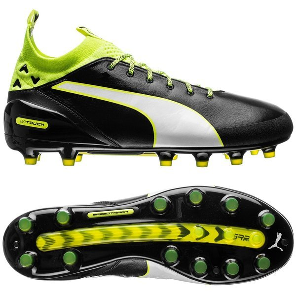 PUMA evoTOUCH PRO AG - Black White Safety Yellow  2665beaea