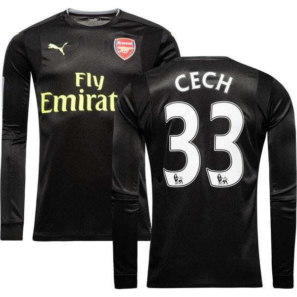 3a0cec87 110.00 EUR. Price is incl. 19% VAT. -53%. Arsenal Goalkeeper Shirt Black  2016/17 CECH 33