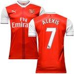 Arsenal Hjemmebanetrøje 2016/17 ALEXIS 7