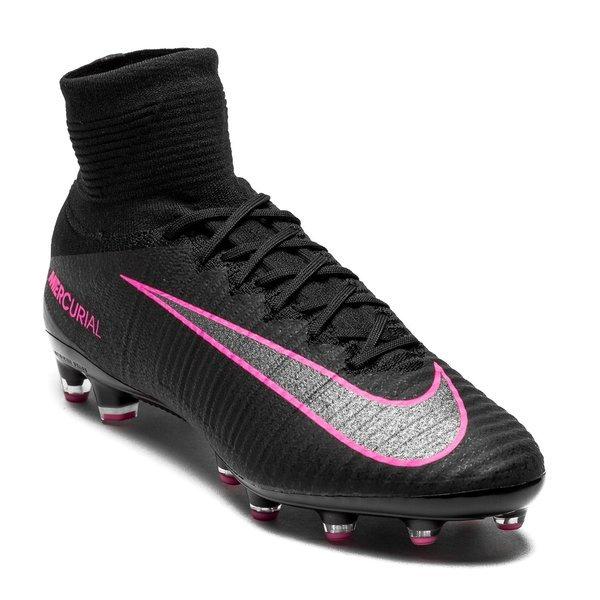buy popular 278a3 de1fb Nike Mercurial Superfly V AG-PRO Black Pink Blast