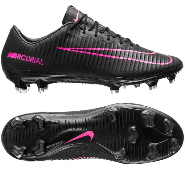Nike Mercurial Vapor XI FG Black/Pink Blast. Read more about the product.  Compare models. - football boots. - football boots