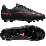Nike Mercurial Vapor XI FG Sort/Pink Børn