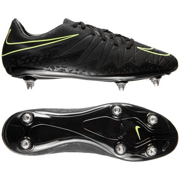 c5b21918a12 Nike Hypervenom Phelon II SG Black Volt