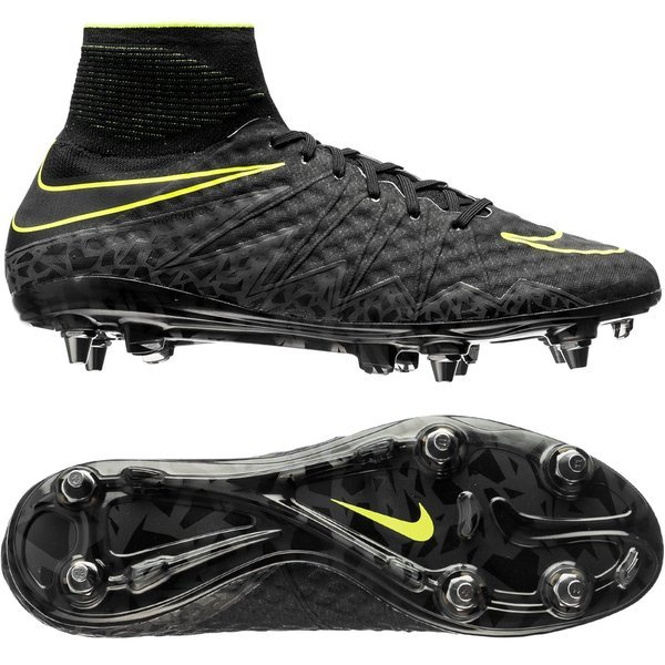 uk availability f9696 18f2f Nike Hypervenom Phantom II SG-PRO Black Volt. Read more about the product.  - football boots. - football boots image shadow