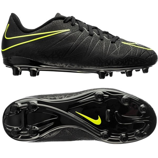 best service 1eada e3d75 Nike Hypervenom Phelon II FG BlackVolt Kids. Read more about the product.  - football boots. - football boots image shadow