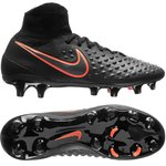 Nike Magista Obra II FG Black/Total Crimson Kids