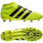 adidas ACE 16.1 Primeknit FG/AG Gul/Sort