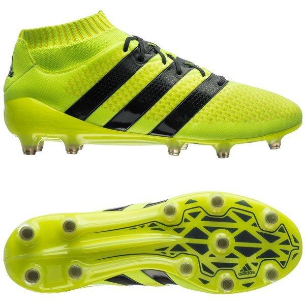 newest collection 4da7f 9b207 adidas ACE 16.1 Primeknit FG/AG Solar Yellow/Core Black ...