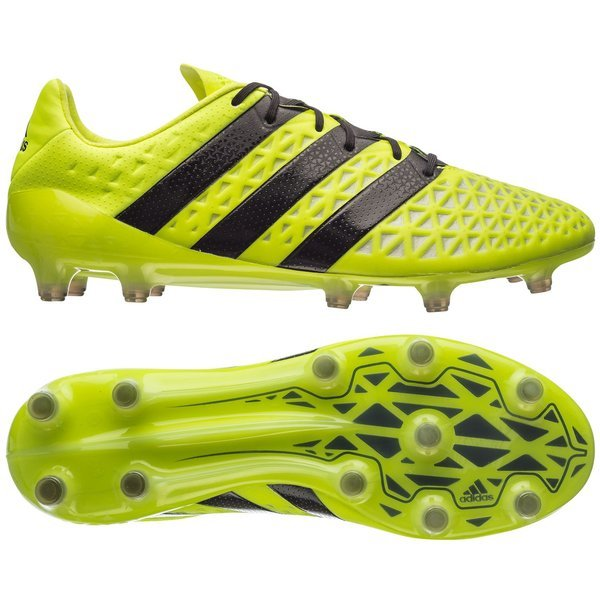 separation shoes e2ac3 03aed adidas ACE 16.1 FG/AG Solar Yellow/Core Black/Silver ...