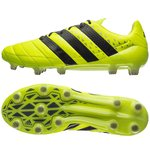 adidas ACE 16.1 Leather FG/AG Jaune/Noir