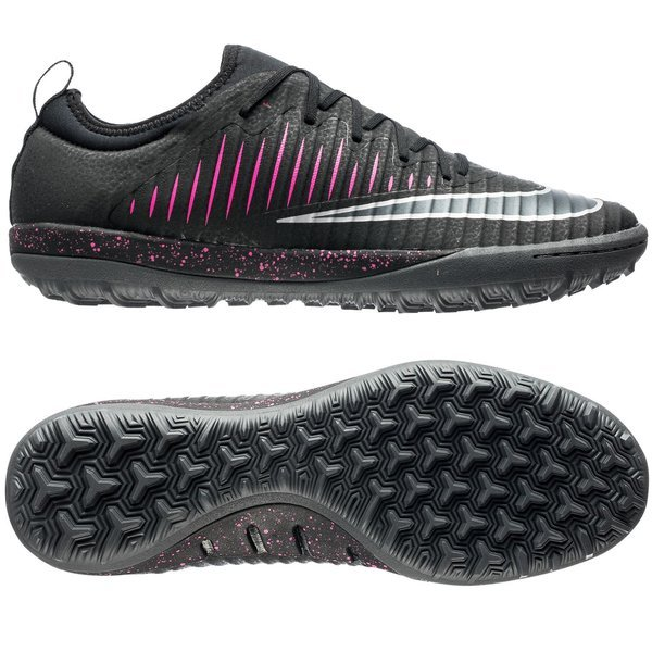 697d20b31c29 90.00 EUR. Price is incl. 19% VAT. -60%. Nike MercurialX Finale II TF Black Pink  Blast Gum ...