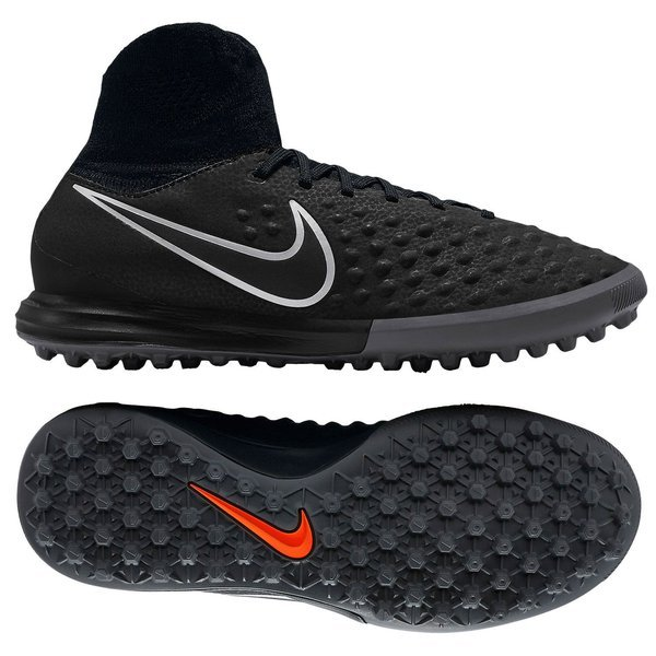 78e89994b915 Nike MagistaX Proximo II TF Black Gum Light Brown Blue Kids. Read more  about the product. - football boots image shadow