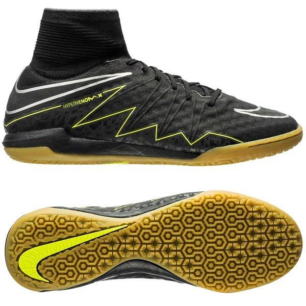 78dd0fe30172 Nike HypervenomX Proximo IC Black Volt Gum Light Brown