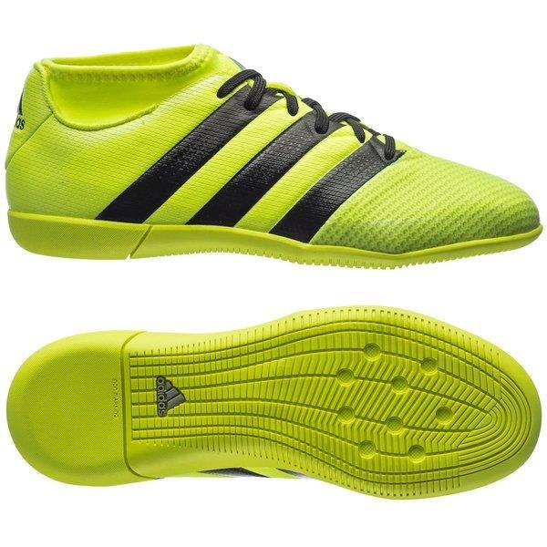 e94485b705c861 adidas ACE 16.3 Primemesh IN Geel/Zwart Kinderen | www.unisportstore.nl