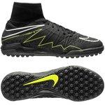 Nike HypervenomX Proximo TF Schwarz/Neon Kinder