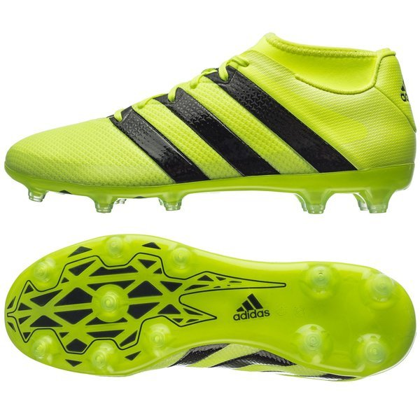 cda411679 130.00 EUR. Price is incl. 19% VAT. -55%. adidas ACE 16.2 Primemesh FG AG  Solar Yellow Core Black Silver Metallic