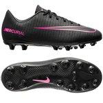 Nike Mercurial Vapor XI AG Sort/Pink Børn