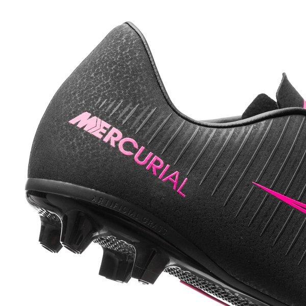 Nike Mercurial Vapor XI AG SortPink Børn | unisport.dk
