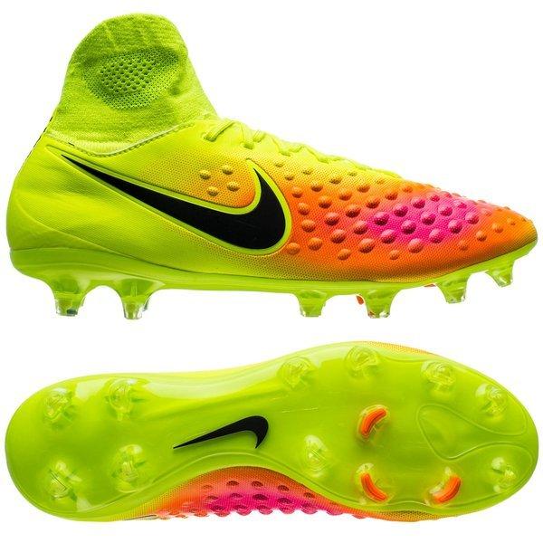 Nike Magista Orden II FG Jaune FluoRoseTurquoise