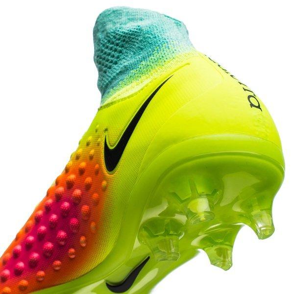 420df16f27db Nike Magista Obra II FG Volt Black Total Orange Pink Blast  HyperTurquoise