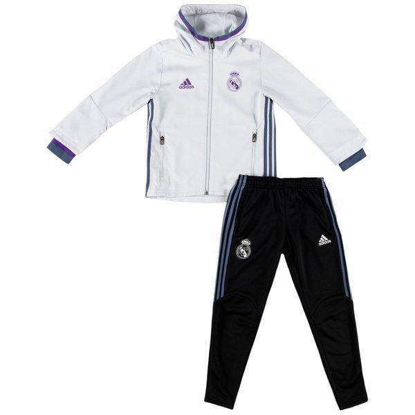 60d55ab516 Real Madrid Presentation Survêtement - Blanc/Violet/Noir Junior ...