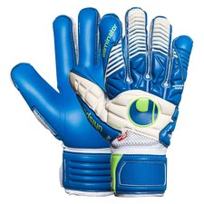 Uhlsport Torwarthandschuhe Eliminator Aquasoft Outdry Blau/Weiß