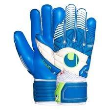 Uhlsport Keepershandschoenen Eliminator Aquasoft Outdry Blauw/Wit