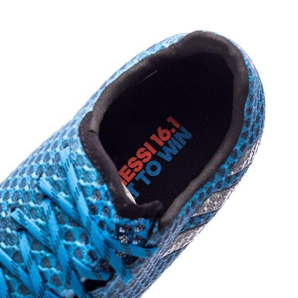 adidas Messi 16.1 FGAG BleuArgentéNoir Enfant