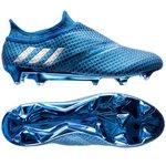 adidas - Messi 16+ PureAgility FG/AG Bleu/Argenté/Noir