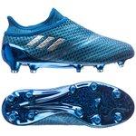 adidas - Messi 16+ PureAgility FG/AG Bleu/Argenté/Noir Junior