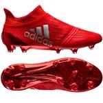 adidas X 16+ PureChaos FG/AG Solar Red/Metallic Silver