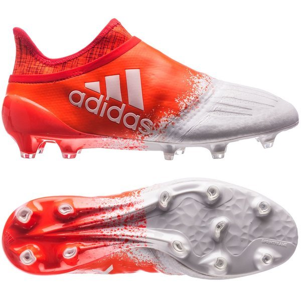 new style af106 fcdd9 adidas X 16+ PureChaos FG/AG Feather White/Solar Red Women ...