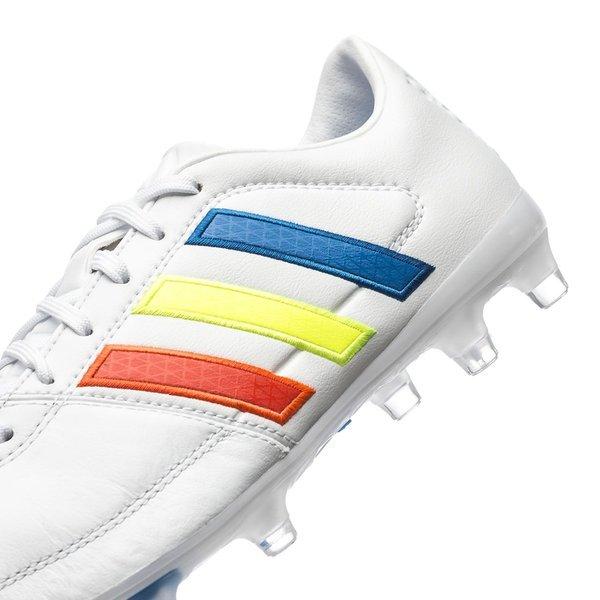 374cb93401d adidas Gloro 16.1 FG Feather White/Solar Yellow/Shock Blue | www ...