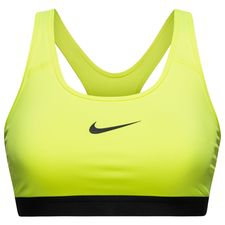 Image of   Nike Pro Classic Sports BH Neon/Sort Dame