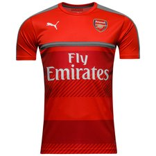 Arsenal Trainingsshirt - Rood/Grijs
