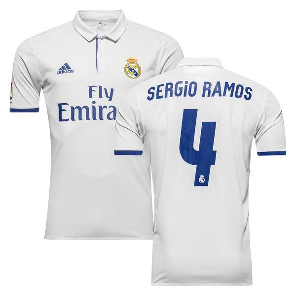 ef8f1b214 Real Madrid Home Shirt 2016 17 SERGIO RAMOS 4 Kids. Read more about the  product. - football shirts. - football shirts image shadow