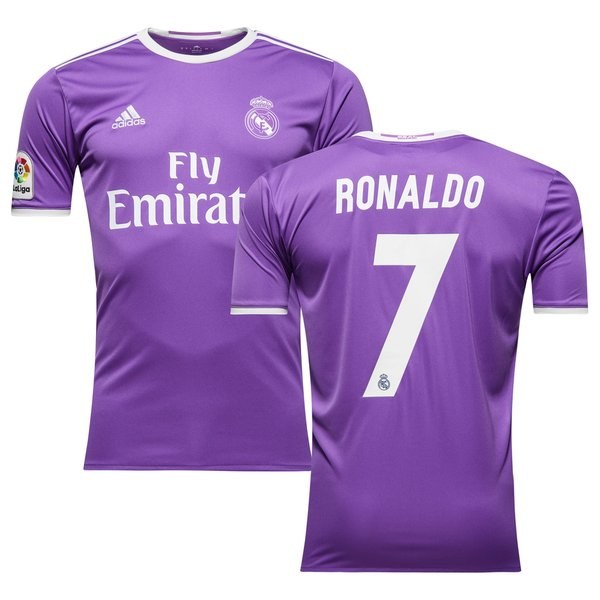 Real Madrid Maillot Extérieur 2016/17 RONALDO 7 | www.unisportstore.fr