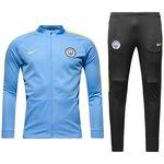 Manchester City Dry Træningsdragt - Blå/Gul Børn