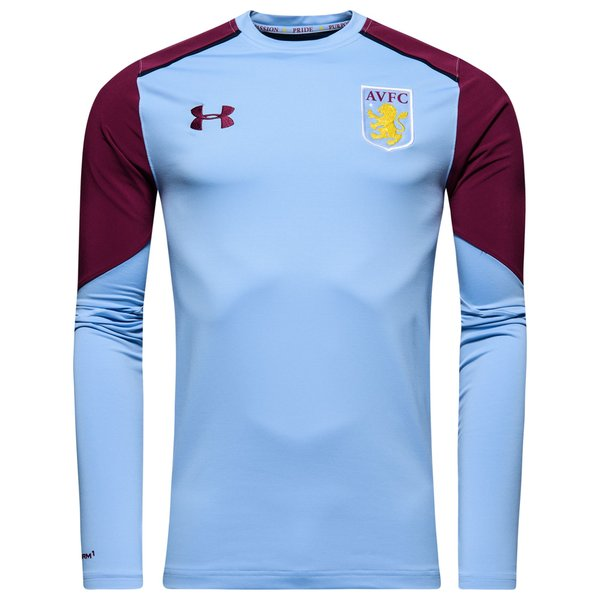 Aston Villa Training Shirt Midlayer Blue Burgundy Www Unisportstore Com
