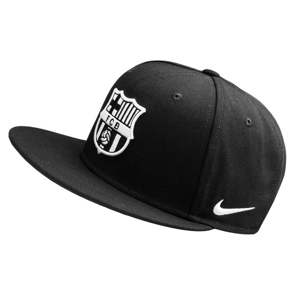 Barcelona Cap Snapback Seasonal True Black White  8c69e03cac5