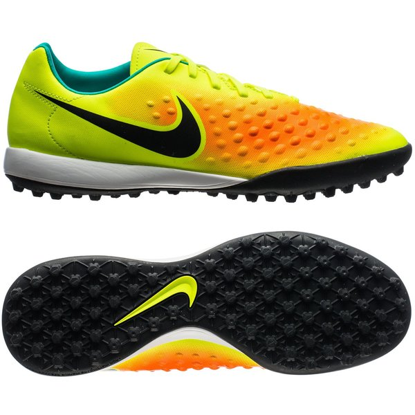 new concept 2ee55 99a18 70.00 EUR. Price is incl. 19% VAT. -60%. Nike MagistaX Onda II TF Volt Black  Total Orange Clear Jade