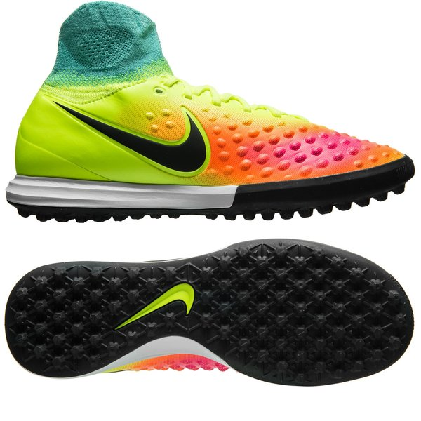 b0b184037660 Nike MagistaX Proximo II TF Volt Black HyperTurquoise Total Orange ...