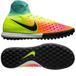 Nike MagistaX Proximo II TF Neon/Pink/Türkis Kinder