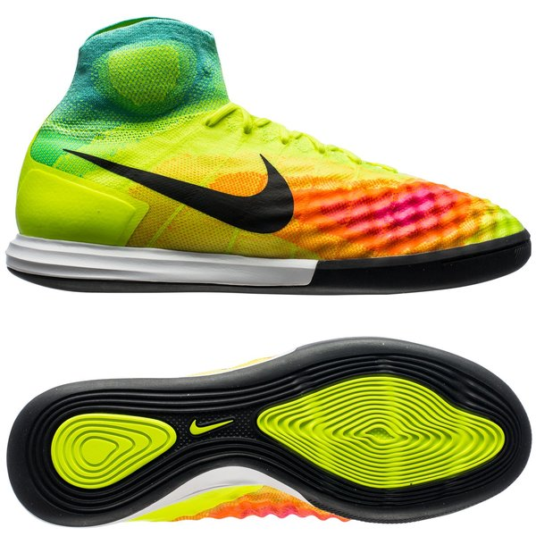 Nike MagistaX Proximo II IC Jaune Fluo Rose Turquoise. Lire plus à propos  des produits. - chaussures indoor. - chaussures indoor image shadow d95a21e4e6c2