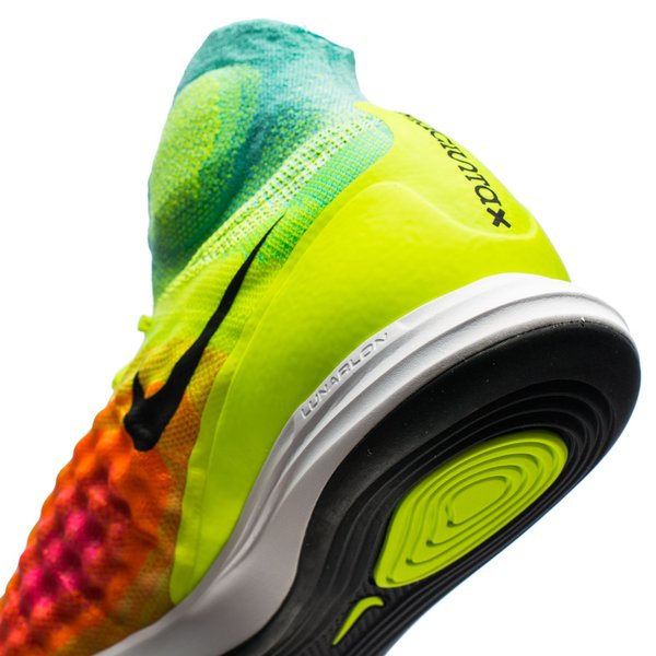 Nike MagistaX Proximo II IC Volt Black HyperTurquoise Total Orange Pink  Blast. Read more about the product. - indoor shoes ae2392e64